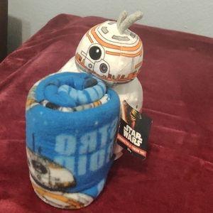Star wars plush/blanket